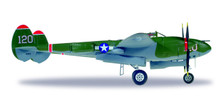 580243   Herpa Wings 1:72   P-38 Lightning U.S. Army Airforces (USAAF) NL38TF(120) Captain V E Jett,431st. Fighter Sqdn.,475 Fighter Group,'Thoughts of Midnight' (die-cast)   is due: September/October 2017