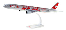 611671 | Herpa Snap-Fit (Wooster) 1:200 | Boeing 777-300ER Swiss HB-JNA, 'People's Plane'  |is due: September/ October 2017