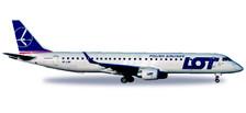 530576 | Herpa Wings 1:500 | Embraer E-195 SP-LNF | is due: September / October 2017