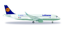 530699 | Herpa Wings 1:500 | Airbus A320 Lufthansa D-AIUQ, Munich Airport 25 Years