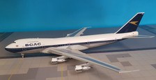 ARD2054P | ARD200 1:200 | Boeing 747-100 BOAC G-AWNM, '10 Windows Top' (polished, with stand)