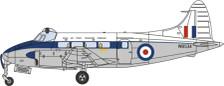 OX72DV005 | Oxford Die-cast 1:72 | DH104 Devon RAF Transport Command WB534 | is due: September 2017