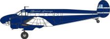 OX72BE001 | Oxford Die-cast 1:72 | Twin BEECH Bristol Airways G-BKGM | is due: September 2017