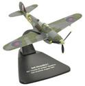 OXAC071 | Oxford Die-cast 1:72 | Bell Airocobra 1, 601'City of London Sqdn' RAF Duxford., 1949