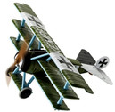 AA38306 | Corgi 1:48 | Fokker Dr.I Triplane, 213 17 K ,Lt. Friederich Kempf, Jasta 2 , Pronville Aerodrome 1917 1:48 | is due: October 2017