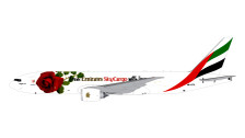 GJUAE1662 | Gemini Jets 1:400 1:400 | Boeing 777F Emirates Sky Cargo A6-EFL, 'With Love' | is due: July 2017