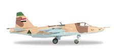82MLCZ7206 | Herpa Wings 1:72 | Sukhoi Su-25K Iraqi Air Force Jalieau Air Base Iraq 1991 (stand incl)