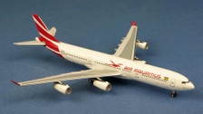 AC1597 | Aero Classics 1:400 | Airbus A340-300 Air Mauritius 3B-NBI | is due: July 2017