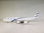 IF744ELAL001 | InFlight200 1:200 | Boeing 747-400 EL AL 4X-ELA, '100 Years' (with stand)