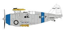 HA7308 | Hobby Master Military 1:48 | Grumman F3F-1 US Navy 0236, VF-6B, USS Saratoga, c. 1936 | is due: January 2018