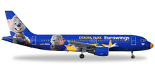 558808 | Herpa Wings 1:200 1:200 | Airbus A320 Eurowings D-ABDQ 'Europa Park' (Plastic) | is due: November / December 2017