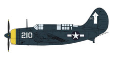 HA2212 | Hobby Master Military 1:72 | SB2C-4E Helldiver No. 210, VB-84, USS Bunker Hill, Tokyo Raids, Feb 1945 | is due: January 2018
