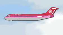 ACOBR1019 | Aero Classics 1:400 | F28 AeroPeru OB-R-1019 (pink top) | is due: September 2017