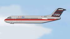 ACN463AU | Aero Classics 1:400 | F28 US Air N463AU (90s colours) | is due: September 2017
