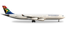 530712 | Herpa Wings 1:500 | Airbus A340-300 South African ZS-SXF, 'Mandela Day' | is due: November / December 2017