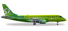 530866 | Herpa Wings 1:500 | Embraer E-170 S7 Airlines VQ-BBO (new colours) | is due: November / December 2017