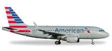 530835 | Herpa Wings 1:500 | Airbus A319 American Airlines N8001N | is due: November / December 2017