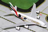 GJUAE1668 | Gemini Jets 1:400 1:400 | Airbus A380 Emirates A6-EER, 'Wildlife #2' | is due: September 2017