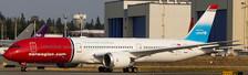XX4027A | JC Wings 1:400 | Boeing 787-9 Norwegian G-CKLZ, 'Unicef' (flaps down) | is due: November 2017