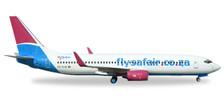 531085 | Herpa Wings 1:500 | Boeing 737-800 FlySafair ZS-SJS | is due: January / February 2018