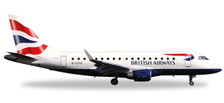531092 | Herpa Wings 1:500 | Embraer E-170 British Airways Cityflyer G-LCYG | is due: January / February 2018