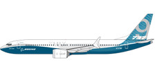 611824 | Herpa Snap-Fit (Wooster) 1:200 | Boeing 737 MAX 9 House Colours N7379E | is due: January / February 2018