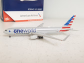 GJAAL1680 | Gemini Jets 1:400 1:400 | Boeing 767-300ER American Airlines N343AN (oneworld)