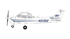 GGCES006 | Gemini General Aviation 1:72 | Cessna 172 FlyECA.com N2135S | is due: October 2017