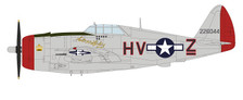 HA8456 | Hobby Master Military 1:48 | P-47D Thunderbolt 42-26044, 61st FS/56th FG, 'Silver Lady', Boxted, May 1944 | is due: January 2018