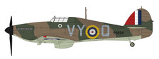 HA8608 | Hobby Master Military 1:48 | Hawker Hurricane Mk.I RAF P3854, 85 Sqn., Peter Townsend, Battle of Britain, 1940 | is due: January 2018