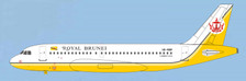 ACV8RBP | Aero Classics 1:400 | Airbus A319 Royal Brunei V8-RBP | is due: December 2017