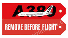 RBF380 | Gifts | Key Tag - Remove Before Flight - A380