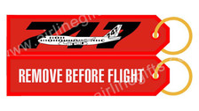 RBF747 | Gifts | Key Tag - Remove Before Flight - 747
