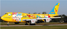 BB4-2017-001 | Big Bird 1:400 | Boeing 747-400D ANA' Pikachu Jumbo' JA8957  | is due: November 2017