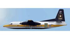 AC19201   Aero Classics 1:400   Fokker F27 USAF 51607, 'Golden Knights'   is due: January 2018