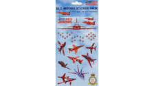 40586 | Gifts | Red Arrows Sticker Pack