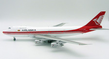 IF742AL001 | InFlight200 1:200 | Boeing 747-200 AirLanka 4R-ULF (with stand)