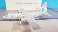 JF-C130-013 | JFox Models 1:200 | C-130H Hercules Greek AF 745, '60' (with stand)