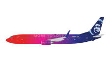 G2ASA696   Gemini200 1:200   Boeing 737-900 Alaska N493AS, 'More to Love'   is due: January 2018