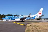 PH404171 | Phoenix 1:400 | Boeing 737-800 Japan Transocean Air JA05RK, 'Jinbei Jet' | is due: January 2018