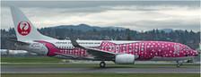 XX4032 | JC Wings 1:400 | Boeing 737-800 Japan Transocean Air JA06RK, 'Sakura Jinbei Jet' | is due: January 2018