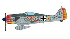 JCW72FW190001 | JC Wings Military 1:72 | Fw 190A-5 Luftwaffe, JG52, Hermann Graf, Southern France, 1943 | is due: February 2018