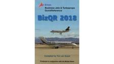 BJQR18 | Air-Britain Books | BizQR Business Jets & Turboprops Quick Reference 2018 - Ton van Soest | is due: February 2018
