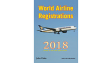WAR18V2 | Mach III Publishing Books | World Airline Registrations 2018 - John Coles (aircraft type order) | is due: February 2018