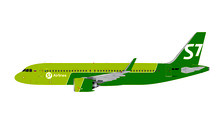 GJSBI1699 | Gemini Jets 1:400 1:400 | Airbus A320neo S7 Airlines VQ-BCF | is due: March 2018