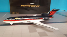 B-721-T01 | Blue Box 1:200 | Boeing 727-100 Trump VP-BDJ (with stand)