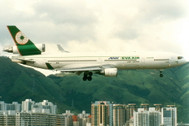 PH04176 | Phoenix 1:400 | MD-11 EVA Air B-16101, 'ANK Joint Service' | is due: March 2018