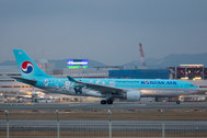 PH04192 | Phoenix 1:400 | Airbus A330-200 Korean Air HL8227, 'Pyeongchang 2018' | is due: March 2018