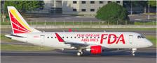 EW4175001 | JC Wings 1:400 | Embraer ERJ-175 FDA Fuji Dream Airlines JA12FJ (red) | is due: April 2018