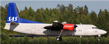 XX2052 | JC Wings 1:200 | Fokker 50 SAS LN-RNC (with stand) | is due: April 2018